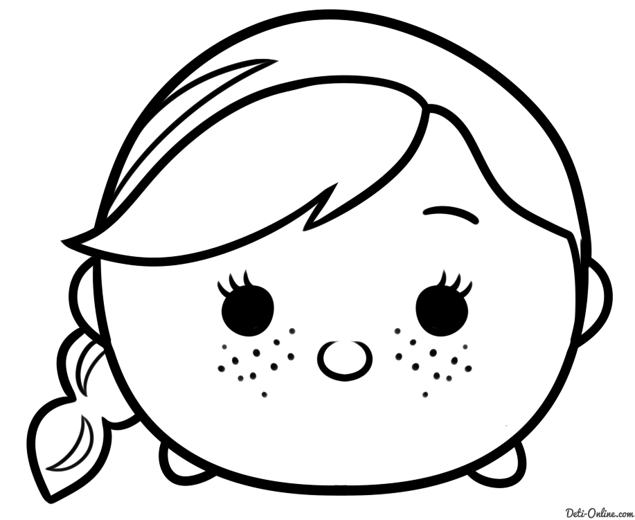 Olaf tsum tsum coloring pages black and white coloring pages for Tsum tsum coloring pages