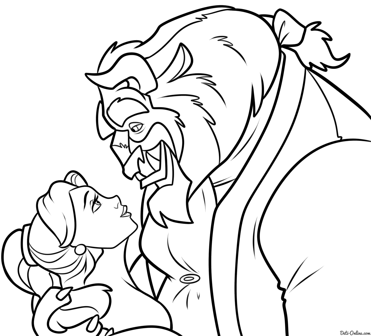 Image Result For Coloring Pages Disney Belle Coloring
