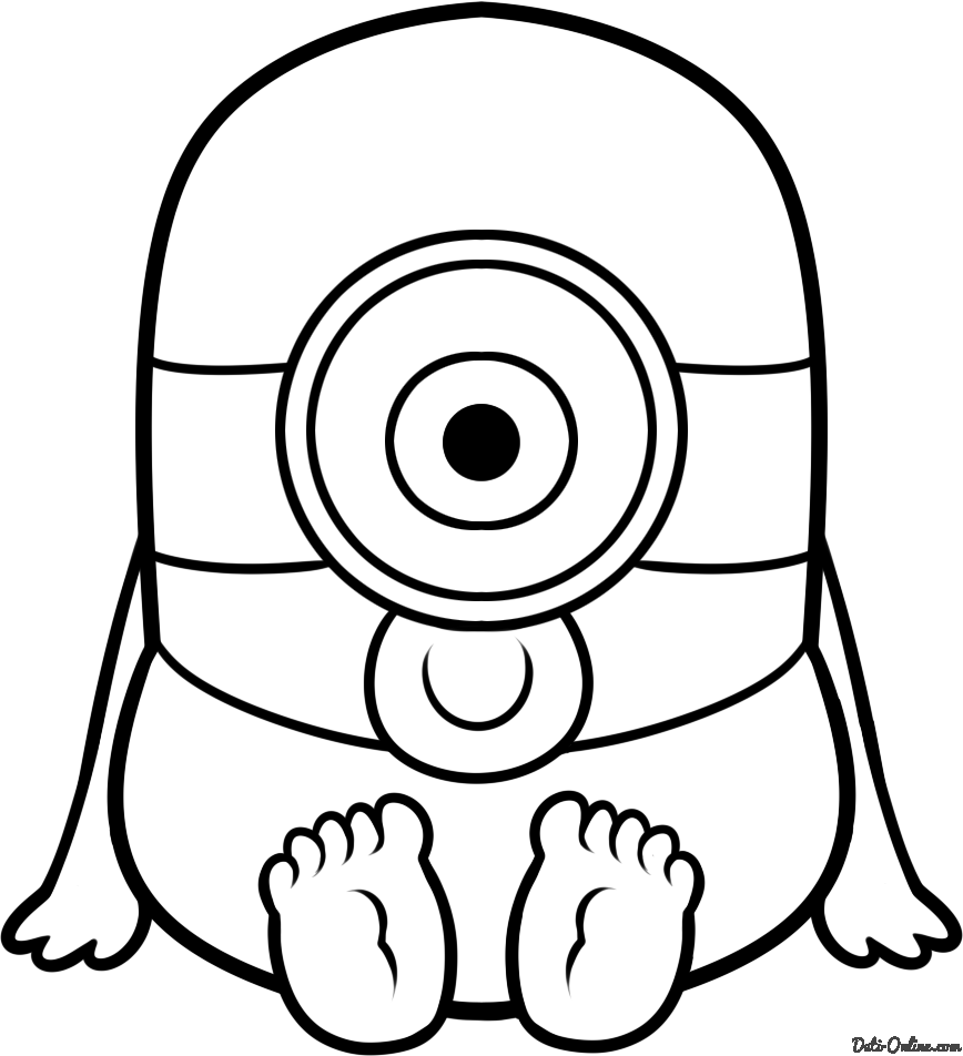 cute-minions-coloring-pages