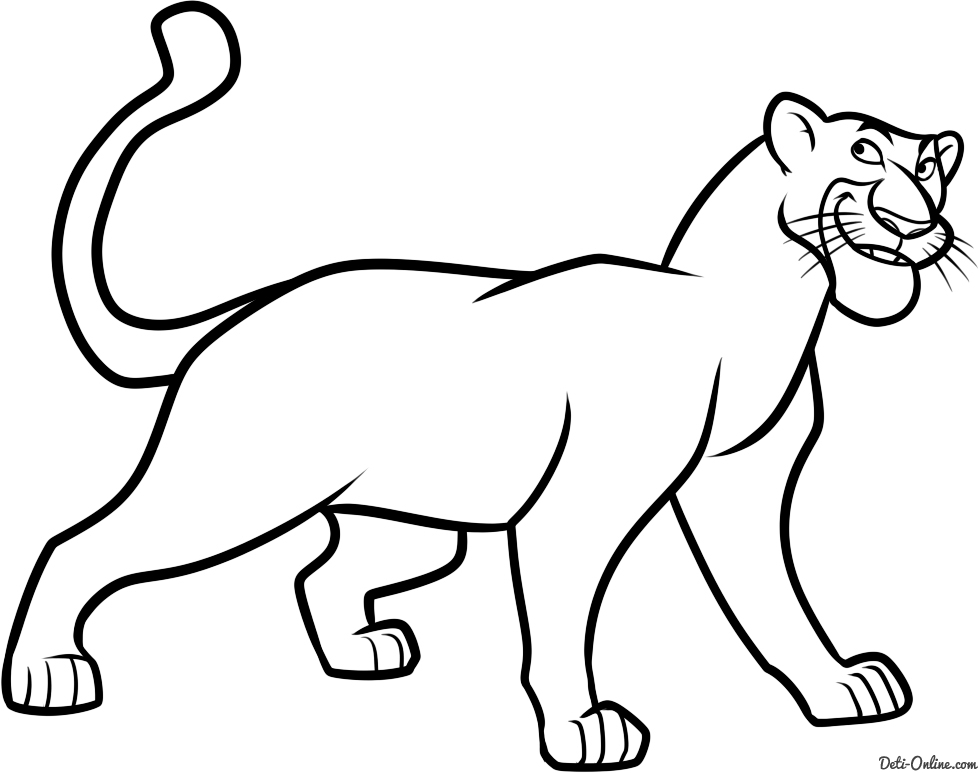 Black Panther Coloring Pages Sketch Coloring Page