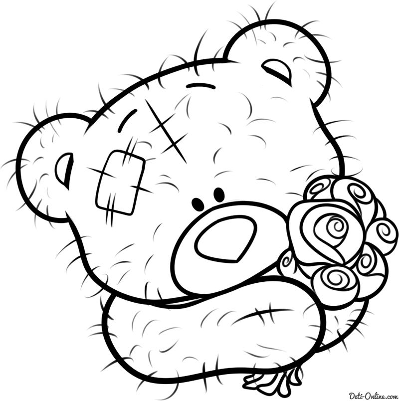 Free Coloring Pages Of Me To You Tatty Teddy Me To You Colouring Pages